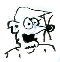 Rough Weasel Sketch